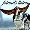 Elayna: friends listen by Van