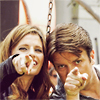stana nathan pointing