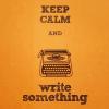 misc:write something