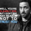 SPN: Clearly evil but why not trust you?