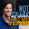 Andrea: Jared - not crazy