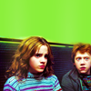 ginger vic: harry potter: ron/hermione; kids