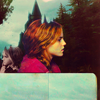 ginger vic: harry potter: hermione; forest
