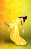 желтая девушка