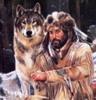 волк, человек