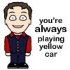 cabin pressure - yellow car