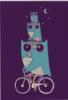 owl on owl on the other owl on bike