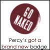 percy's new badge