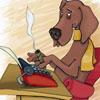 собака писателя
