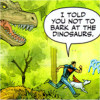 Superboy- Don't bark at the Dinos