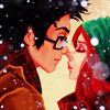 Harry and Ginny winter