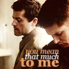destiel, you mean that much to me
