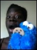 Tye, TyeOshun, Cookie Monster, Leather, Cookie