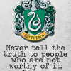 themintymermaid: [Hogwarts] Slytherin Truth