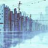 stock: rainy city