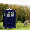 DW TARDIS middle-of-nowhere