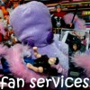 octofan, fanservices