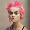 розывый волос