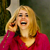 Rose Tyler: Laughing so much