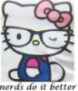 hello kitty, nerds