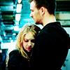 Cassie and Nick hug