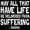 buddha, delivered from suffering