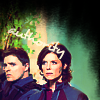 Meredith: Elizabeth and Lorne - green