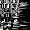 blah blah blah: bookshelves