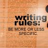 WRITING RULE
