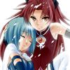 The Princess of Seyruun: Madoka - KyokoSayaka embrace