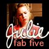 Julie: FAB FIVE