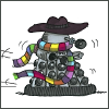 literate packrat: Dr Who - Dalek as Five