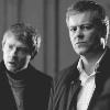 Morgan Stuart: Sherlock/Lestrade & John b&w