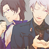 Prussia x Austria, mirrorcoat, yaoi