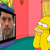 Why all the pearls?Why all the hair?Why anything?: SuperSimpsons - Homer and Castiel
