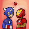 cap and ironman by pentapus