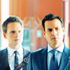Tiptoe39: suits - harvey/mike