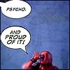 Deadpool: proud of it