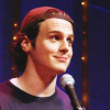 Nicole: Jon Groff - backwards hat