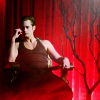 Larissa: TrueBlood-Eric on throne red background