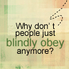 Cabin Pressure Blindly obey