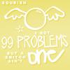 pr harry potter→problems & snitch