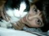 вышивка: Котёшка и я