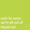 Text - Liquid Evil