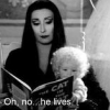 He Lives!, Baby, Morticia