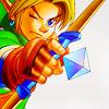 Zelda // on the mark