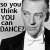 Jo Ann: Dance: Astaire Think you can dance?