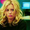 sad face, Community, Britta