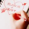 KLAINE heart doodle
