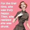 vintage drunk